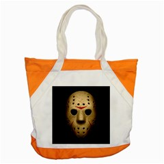 Jason Hockey Goalie Mask Accent Tote Bag by Celenk