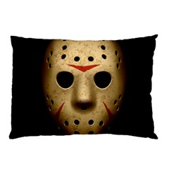 Jason Hockey Goalie Mask Pillow Case (two Sides)