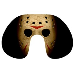 Jason Hockey Goalie Mask Travel Neck Pillows by Celenk