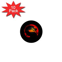 Dragon 1  Mini Buttons (10 Pack)