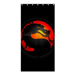 Dragon Shower Curtain 36  X 72  (stall)  by Celenk