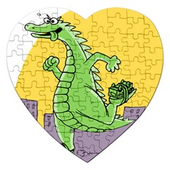 Dragon Jigsaw Puzzle (heart)
