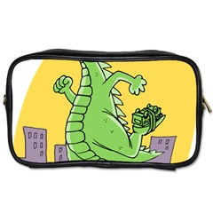 Dragon Toiletries Bags 2 Side by Celenk