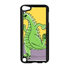 Dragon Apple Ipod Touch 5 Case (black) by Celenk