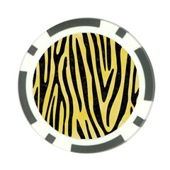 Skin4 Black Marble & Yellow Watercolor (r) Poker Chip Card Guard (10 Pack) by trendistuff
