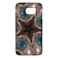 Kaleidoscopic Design Elegant Star Brown Turquoise Galaxy S6