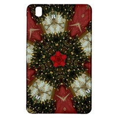 Christmas Wreath Stars Green Red Elegant Samsung Galaxy Tab Pro 8 4 Hardshell Case by yoursparklingshop