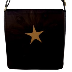 Rustic Elegant Brown Christmas Star Design Flap Messenger Bag (s) by yoursparklingshop