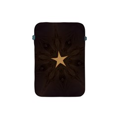 Rustic Elegant Brown Christmas Star Design Apple Ipad Mini Protective Soft Cases by yoursparklingshop