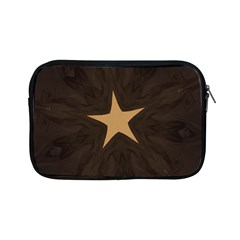 Rustic Elegant Brown Christmas Star Design Apple Ipad Mini Zipper Cases by yoursparklingshop