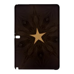 Rustic Elegant Brown Christmas Star Design Samsung Galaxy Tab Pro 10 1 Hardshell Case by yoursparklingshop