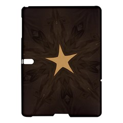 Rustic Elegant Brown Christmas Star Design Samsung Galaxy Tab S (10 5 ) Hardshell Case  by yoursparklingshop