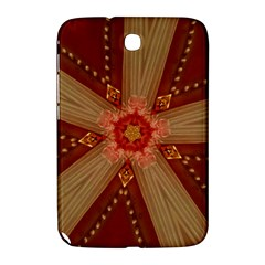 Red Star Ribbon Elegant Kaleidoscopic Design Samsung Galaxy Note 8 0 N5100 Hardshell Case  by yoursparklingshop