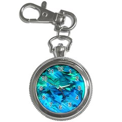 Abstract Acryl Art Key Chain Watches