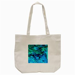 Abstract Acryl Art Tote Bag (cream)