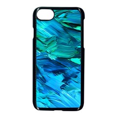 Abstract Acryl Art Apple Iphone 7 Seamless Case (black)