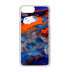 Abstract Acryl Art Apple Iphone 7 Plus Seamless Case (white)