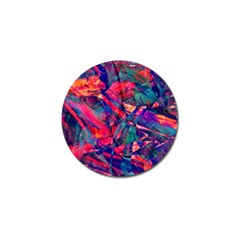 Abstract Acryl Art Golf Ball Marker