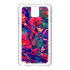 Abstract Acryl Art Samsung Galaxy Note 3 N9005 Case (white)
