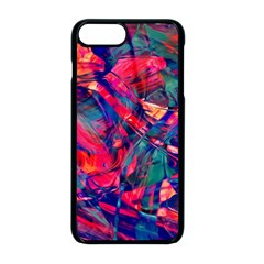 Abstract Acryl Art Apple Iphone 8 Plus Seamless Case (black)