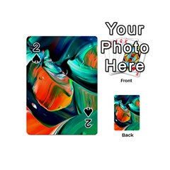 Abstract Acryl Art Playing Cards 54 (mini)  by tarastyle