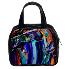 Abstract Acryl Art Classic Handbags (2 Sides) by tarastyle