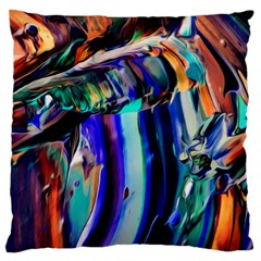 Abstract Acryl Art Standard Flano Cushion Case (one Side) by tarastyle