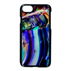 Abstract Acryl Art Apple Iphone 8 Seamless Case (black)