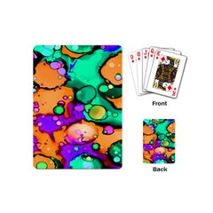 Abstract Acryl Art Playing Cards (mini)  by tarastyle