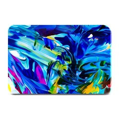 Abstract Acryl Art Plate Mats by tarastyle