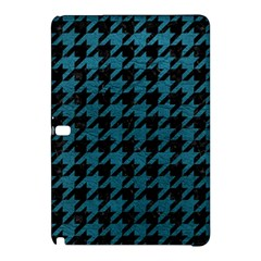 Houndstooth1 Black Marble & Teal Leather Samsung Galaxy Tab Pro 10 1 Hardshell Case
