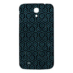 Hexagon1 Black Marble & Teal Leather (r) Samsung Galaxy Mega I9200 Hardshell Back Case by trendistuff