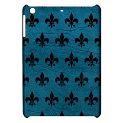 Royal1 Black Marble & Teal Leather (r) Apple Ipad Mini Hardshell Case by trendistuff
