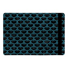Scales3 Black Marble & Teal Leather (r) Apple Ipad Pro 10 5   Flip Case by trendistuff