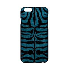 Skin2 Black Marble & Teal Leather Apple Iphone 6/6s Hardshell Case by trendistuff