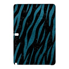 Skin3 Black Marble & Teal Leather (r) Samsung Galaxy Tab Pro 12 2 Hardshell Case by trendistuff