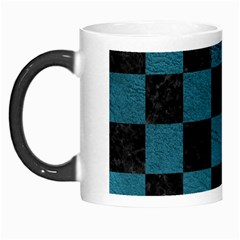 SQUARE1 BLACK MARBLE & TEAL LEATHER Morph Mugs