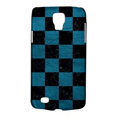 SQUARE1 BLACK MARBLE & TEAL LEATHER Galaxy S4 Active