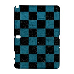 SQUARE1 BLACK MARBLE & TEAL LEATHER Galaxy Note 1