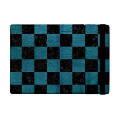 SQUARE1 BLACK MARBLE & TEAL LEATHER iPad Mini 2 Flip Cases