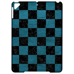 SQUARE1 BLACK MARBLE & TEAL LEATHER Apple iPad Pro 9.7   Hardshell Case