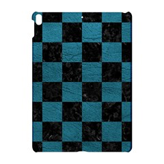 SQUARE1 BLACK MARBLE & TEAL LEATHER Apple iPad Pro 10.5   Hardshell Case