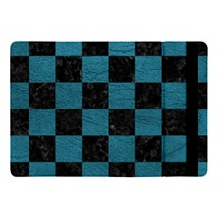SQUARE1 BLACK MARBLE & TEAL LEATHER Apple iPad Pro 10.5   Flip Case