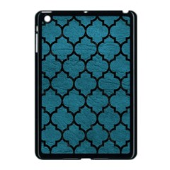 Tile1 Black Marble & Teal Leather Apple Ipad Mini Case (black) by trendistuff