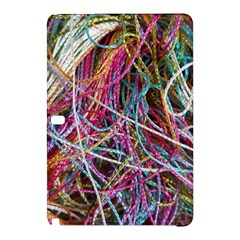 Funny Colorful Yarn Pattern Samsung Galaxy Tab Pro 10 1 Hardshell Case by yoursparklingshop