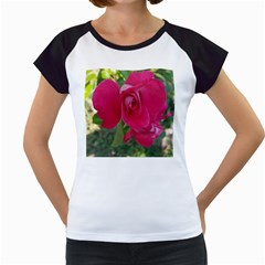 Romantic Red Rose Photography Women s Cap Sleeve T by yoursparklingshop