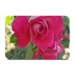 Romantic Red Rose Photography Plate Mats by yoursparklingshop