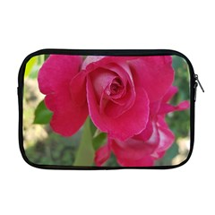 Romantic Red Rose Photography Apple Macbook Pro 17  Zipper Case by yoursparklingshop
