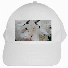 Floral Design White Flowers Photography White Cap by yoursparklingshop