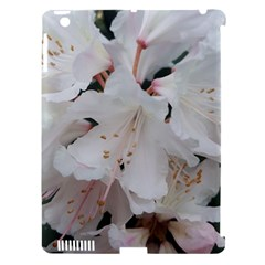 Floral Design White Flowers Photography Apple Ipad 3/4 Hardshell Case (compatible With Smart Cover) by yoursparklingshop